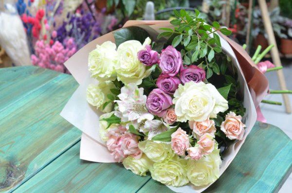 Букет №15 с розами в Гомель