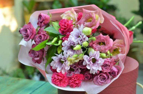 Купить розовый букет в Гомеле