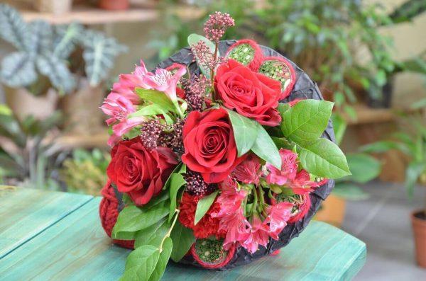 Необычный букет цветов в Гомеле
