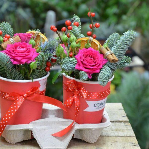Купить цветы в коробочках в Гомеле