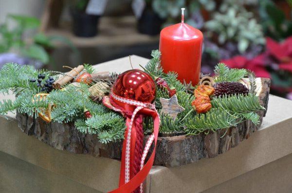 Купить рождественскую композицию в Гомеле